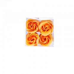 6 flores de jabon en estuche