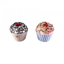 Cajita en forma de tarrina de helado Cupcake