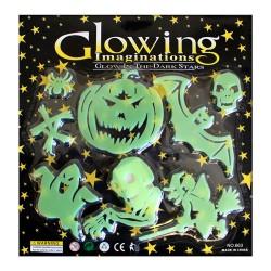 Set figuras fluorescentes Halloween