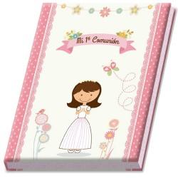 Libro de comunión niña