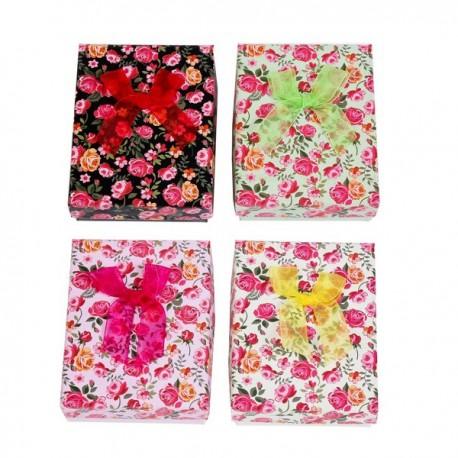 Cajita de regalo Flores de colores