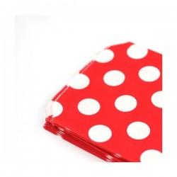 Bolsas de papel Lunares - Rojo