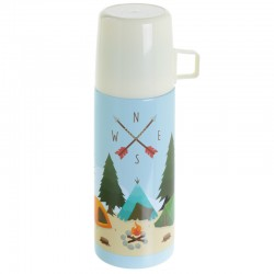 Termo acero inoxidable Camping 350 ml.