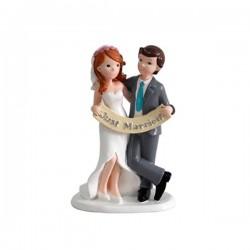 Figura para tarta Just Married