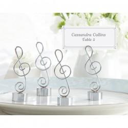 Identificador de mesas Nota musical