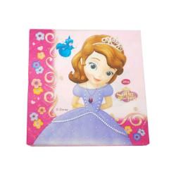 Servilletas Princesa Sofía - Lote 20