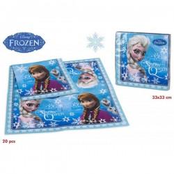 Servilletas Frozen - Lote 20